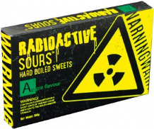 Radio Active Sours Apple 100g